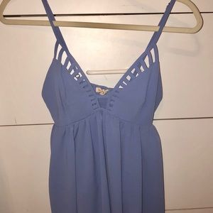 Tops - Blue/Periwinkle Tank Top